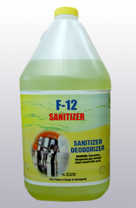 F-12 Low Temp Sanitizer